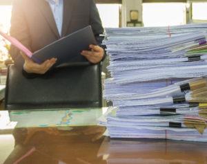 Papieren dossiers