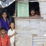 gezin in derde wereld