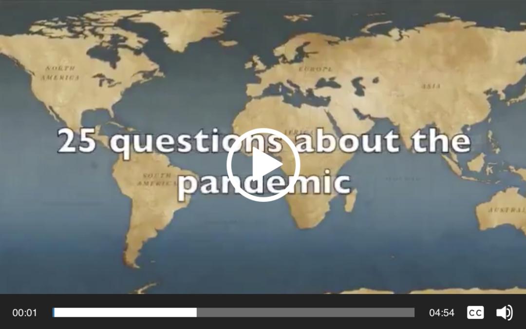 25 vragen over de pandemie